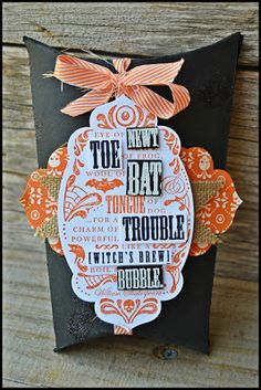 Artisan Wednesday Wow Blog Hop- Toil and Trouble-
