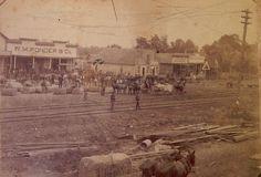 W.M. Ponder & Company is at the left in Walnut Ridge, AR