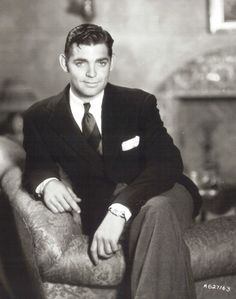 Clark Gable Sans moustache