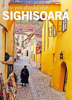 Why you should visit Sighisoara, Romania - The Brave Dame. Sighisoara is located in rural Transylvania, the most breathtaking region of Romania. Chateau Medieval, Medieval Town, Mall Of America, North America, Visit Romania, Romania Travel, Beach Trip, Beach Travel, Tourist Trap