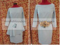 Cómo hacer un vestido con costadillos y peplum asimétrico