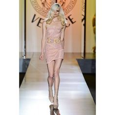 MODA SIEMPRE ELEGANTE VERSACE Paris Vestidos Alta Costura... via Polyvore