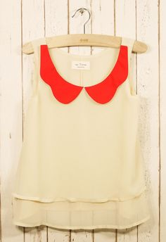 love this top by Mooie Vorm - really want to make a top inspired by this one, especially the collar