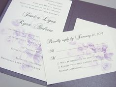 Hey, I found this really awesome Etsy listing at http://www.etsy.com/listing/103698519/purple-wedding-invitation-pocketfold