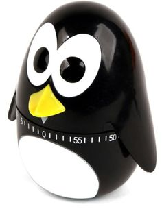 This adorable penguin kitchen timer will keep watch and time your food so it turns out just right. Turn the head of the penguin to set the time. Timer goes up to...