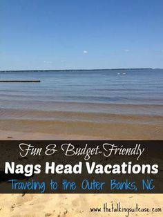 My family has vacationed in Nags Head my entire life.  My Mom even vacation there as a child.  I've learned a ton of fun & budget-friendly Nags Head vacation tips over the years. If your traveling to the Outer Banks, NC, please share your tips with us!