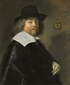 Frans Hals, Portrait of Joseph Coymans, 1644, oil on canvas, 33 x 27 1/2 in., The Ella Gallup Sumner and Mary Catlin Sumner Collection Fund,