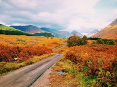 Roads of Glen Etive