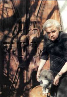 Giger working