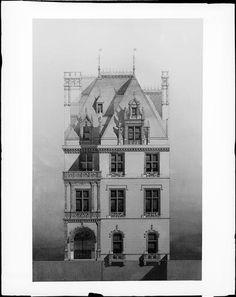 W. K. Vanderbilt Jr. House -589 5th Avenue - Museum of the City of New York