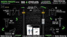 Get killer biceps & triceps www.madbarz.com