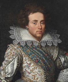 Maximilien II François Gaston de Béthune, Marquis de Rosny, 2ème. Duc de Sully, Prince d'Henrichemont, Pair de France, 1614-1661.