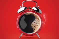 Nescafe Coffee Advertisement. Beautiful Minimalist Print Ads.  www.momentum18.com/blog/beautiful-minimalist-print-ads/