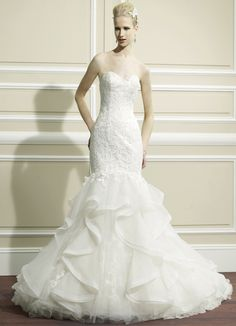 Editor's Pick: Moonlight Wedding Dresses. To see more: http://www.modwedding.com/2014/07/22/editors-pick-moonlight-wedding-dresses/ #wedding #weddings #wedding_dress