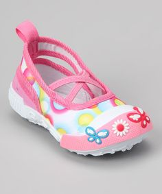 Take a look at this Pink Bubble Slip-On Shoe by Frisky Shoes on #zulily today!