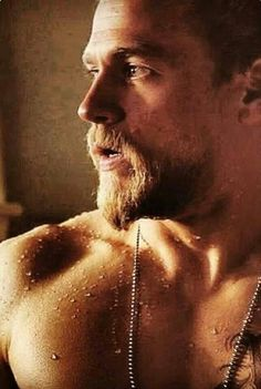 Charlie Hunnam.......I would hop on the back of his bike ANY day of the week!!