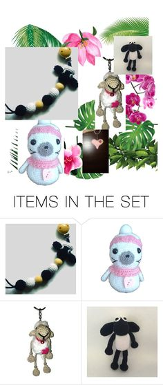 """June accessories"" by bebunnyhandmade ❤ liked on Polyvore featuring art, etsy, blackandwhite, handmade, sheep and polyvoreset"