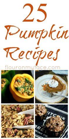 25 Fall Pumpkin Recipes