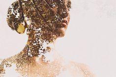 Os retratos lindamente sobrepostos de Sara K Byrne ~ Pêssega d'Oro