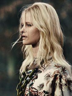 Eternal Flame (Elle UK) #blonde layers