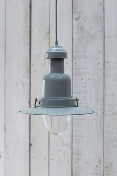 Pendant fishing light in Charcoal. Crafted from spun aluminium, with chrome fittings and matching matt-painted ceiling rose. Beach House Lighting, Cottage Lighting, Kitchen Lighting, Ceiling Pendant, Pendant Lamp, Pendant Lighting, Small Pendant Lights, Island Pendant Lights, Room Lights