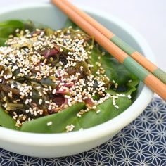 Recipe: Seaweed Salad with Popped Amaranth & Sesame | Kitchn
