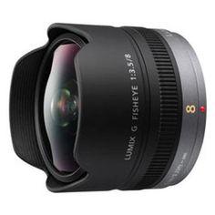 Panasonic 8mm f/3.5 Lumix G Fisheye Micro 4/3 Lens