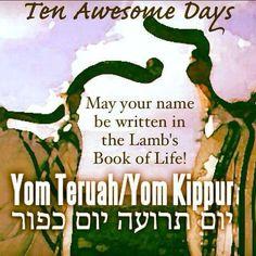 Yom Teruah, Yom Kippur, Lamb's Book Of Life, Israel Today, The Lost Sheep, Luke 9, Old And New Testament, Shabbat Shalom, Torah