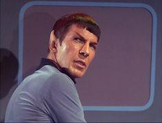 """The Corbomite Maneuver"" Star Trek TOS 1966 Leonard Nimoy Spock First Officer Nims Star Trek Spock, Star Wars, Star Trek Tos, James T Kirk, Irish News, Captain Janeway, Star Trek Episodes, Star Trek 1966, Zachary Quinto"