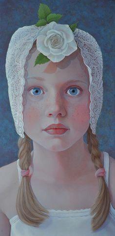 """Rose Cap"" -- by Jantina Peperkamp, Dutch"