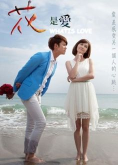 taiwanese drama- 花是爱 (What is Love). It's so sweet and so romantic. Both actors are sooo attractive. Loved it.