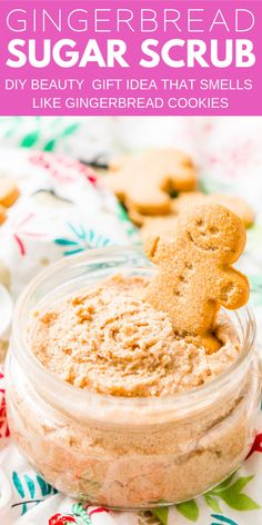 Gift Ideas Treat Your Skin To A Holiday With This Whipped Gingerbread Sugar Scrub Everything You