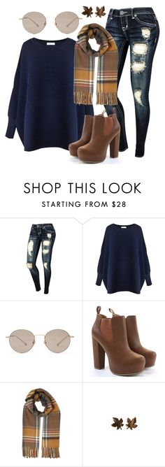 """""""So happy fall is here"""" by freedom2095 ❤ liked on Polyvore featuring Paisie, Gucci and Miss Selfridge"""
