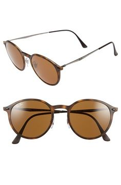 Ray-Ban 'TECH Light-Ray' 49mm Sunglasses available at #Nordstrom