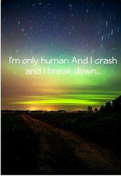 "#Lyrics #quote from Christina Perri's ""Human"". Streams & Tour dates: http://deliradio.com/christina-perri"