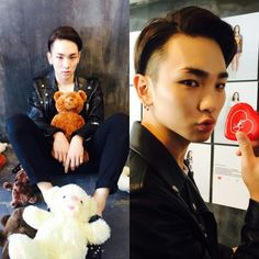 140905 Key instagram update bumkeyk: 熊が好きheartが好き I like bear I like heart