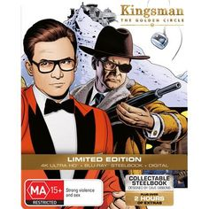 Product Title: Kingsman: The Golden Circle (Blu-ray) (Steelbook) (Hong Kong Version) Also known as: Artist Name(s): Colin Firth (Actor) Jeff Bridges, Pedro Pascal, Colin Firth, Julianne Moore, Channing Tatum, Mark Strong Actor, Kingsman The Golden Circle, Matthew Vaughn, Michael Gambon