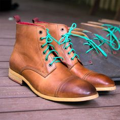When it's time for something a little different to stand out from the crowd, why not consider some funky coloured Wax Cotton Shoelaces to brighten up your everyday shoes? Men's Shoes, Dress Shoes, Everyday Shoes, Crowd, Gentleman, Combat Boots, Wax, Boss, Menswear
