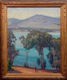 "Aaron E. Kilpatrick (1872-1953) Los Osos, CA, O/C, 20"" x 24"", signed"