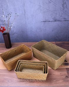 Home Storage Black Round Mesh Rattan Storage Basket For Cosmetic Toiletries Fruit Kitchen Desktop Bathroom Organizer Rich And Magnificent Bathroom Storage & Organization
