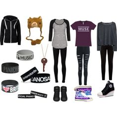Dan Howell Themed Outfits by nicolebug on Polyvore featuring Sisters Point, MANGO, Paige Denim, Converse and Yves Saint Laurent