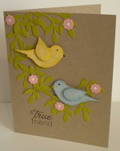 RubberFUNatics: Another bird card