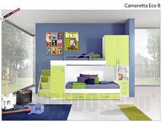 cameretta-eco-con-tre-letti.jpg (1200×680) | camerette | Pinterest