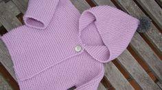 tutorial puntomoderno.com, ABRIGO BEBÉ, baby coat english pattern #bebé, #diy Knit Baby Sweaters, Knitted Baby Clothes, Baby Knitting Patterns, Baby Patterns, Crochet Baby, Knit Crochet, Sweater Hat, Baby Coat, Knitted Afghans