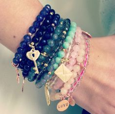 & December 12 noon until Harrods, Knightsbridge Hi ladies, We are delighted to invite you to join the Lola Rose team at Harrods to. Layering Bracelets, Stretch Bracelets, Lola Rose, Semi Precious Beads, North London, Harrods, Fashion Inspiration, Charms, Bangles