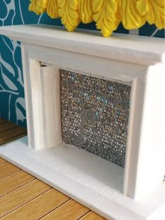 Our Dollhouse Fireplace...
