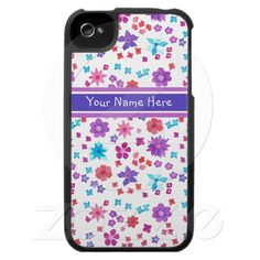 Shop Pretty Flower-Power Iphone 5 Case-Mate created by helikettle. Iphone 3, Iphone Case Covers, Blackberry Bold, Speck Cases, Pretty Flowers, Tech Accessories, Flower Power, Colorful Backgrounds