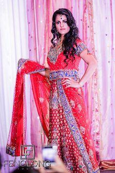 ON SALE> Red Woven Banarsi Silk Lehenga with Swarovski color crystals. Atlanta Wedding, New York Wedding, Desi Wedding, Wedding Ideas, Indian Wedding Photographer, Silk Lehenga, Pakistani Bridal, Formal Dresses, Wedding Dresses