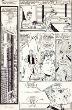 Image of Todd McFarlane The Amazing Spider-Man #309 Page 14 Original Art | Lot #93305 | Heritage Auctions