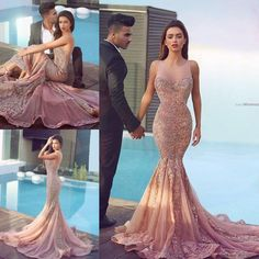 Navy Beaded Sheer Prom Dress 171100 - Prom Dresses | Cool stuff to ...